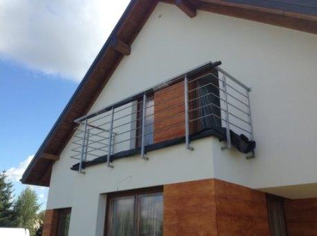 Balustrada balkonowa oraz okienna