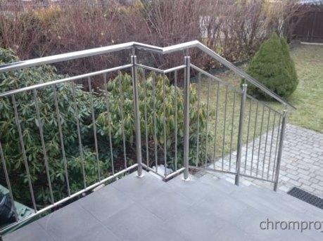 balustrada schodów wejściowych